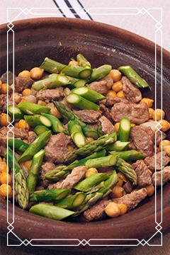 Fleischgerichte aus der original Ali Baba Tajine