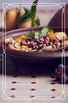 Süße Gerichte aus der original Ali Baba Tajine
